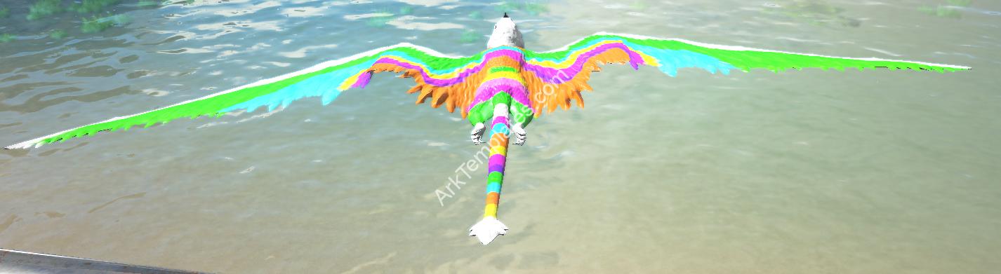 Rainbow Pinata Dimorphodon