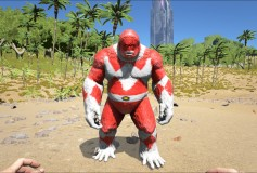 Red Power Ranger Big Foot – ArkTemplates Exclusive