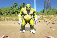 Yellow Power Ranger Big Foot – ArkTemplates Exclusive