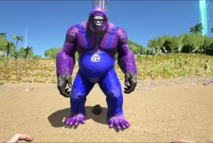 Evil Purple Minion Big Foot – ArkTemplates Exclusive