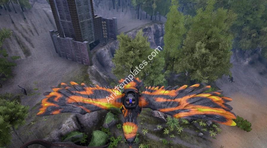 Fire Flame Argentavis