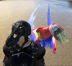 Scarlet Macaw 2