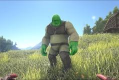 Shrek Big Foot