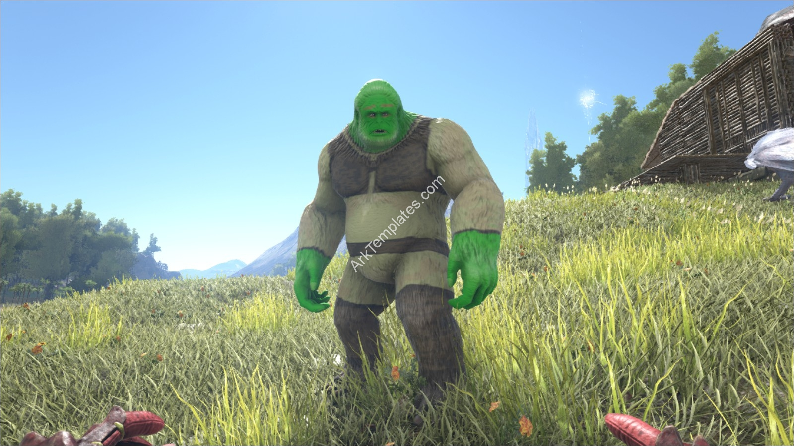 Shrek Big Foot Ark Templates