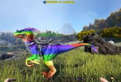 Rainbow Raptor