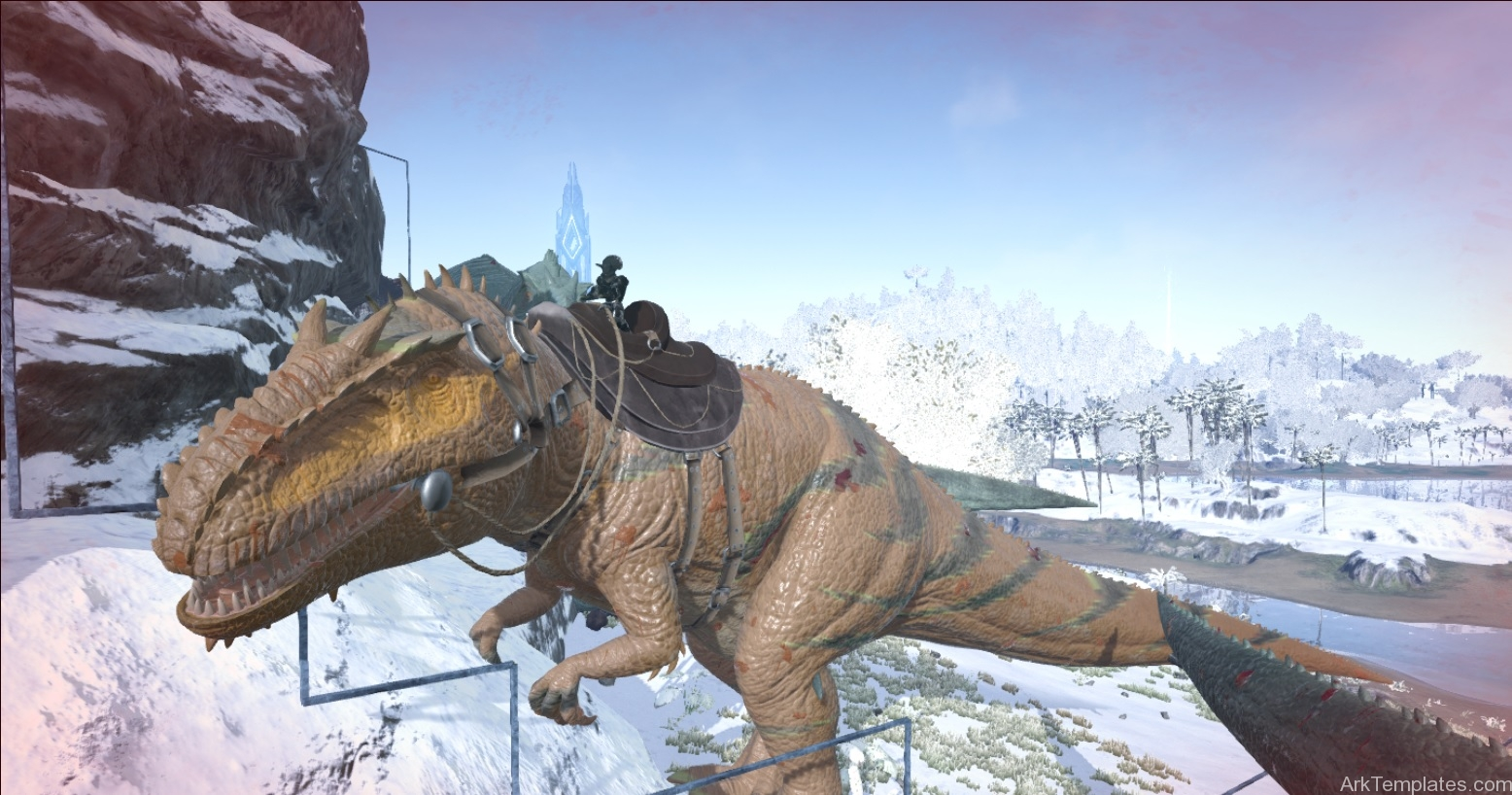 tiger-giganotosaurus