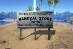 Genneral Store (Wooden and Metal Signs)