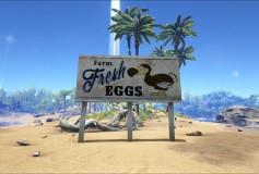 Fresh Eggs (Wooden and Metal Signs)