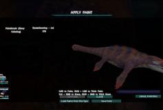 Coral Mosasaurus