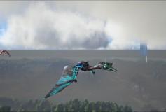 Blue Fire Tribal