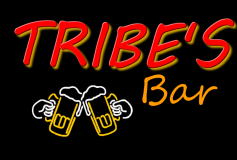 Tribe's Bar (Canvas, Wooden, and Metal Signs)