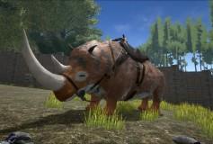 Primal Woolly Rhino