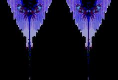 Blue Mothman Trident
