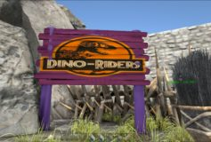 Dino Riders Billboard
