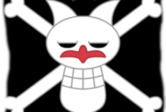 One Piece Foxy Pirates Flag