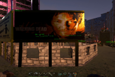 TheWalkingDead Metal Billboard
