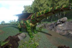 Forest Camo Titanosaur