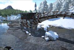 Winter Camo Titanosaur