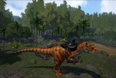 Tiger Allosaurus