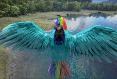 Rainbow Dash Argentavis