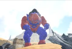 Red and Blue Golem