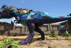 Blue Frog Colored Rex