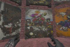 Mario VS Plants VS Zombies Painting