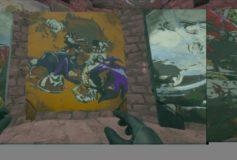 Mario VS Sonic Painting