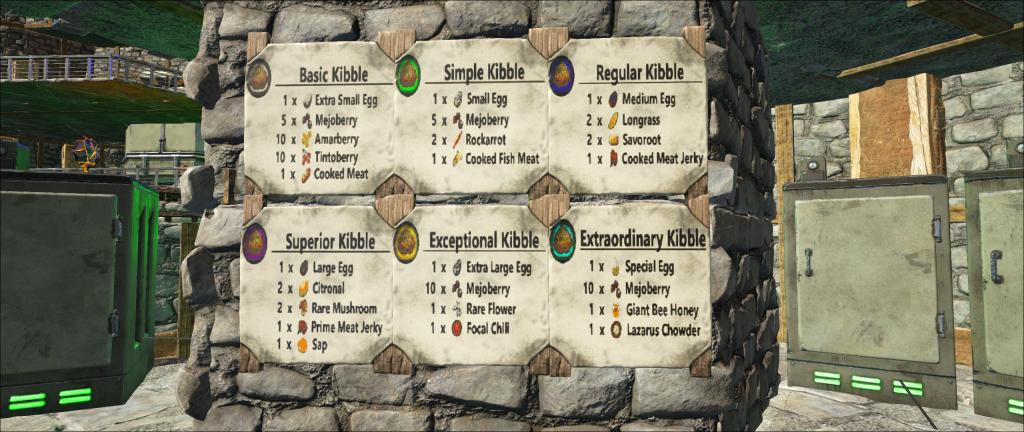 Superior Kibble Kibble Rework Ark Templates